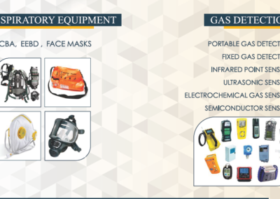 Respiratory Equipment & Gas Detection
