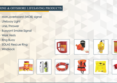 Marine & Offshore Life Saving Products