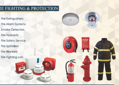 Fire Fighting & Protection